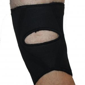 Enkelt knäskydd i neopren