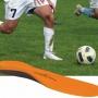 Stötdämpande sulor fotbollsskor